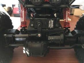 Servo platform for 1/10 Scale 2.4Ghz 4 Wheel Drive RC Rock Crawler