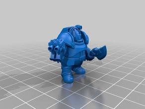 space dwarf exo-armor test models