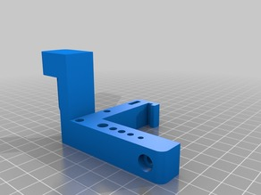MakerGear M2 Tool Holder (z-axis screw driver support)