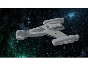 Klingon D5 1/1000