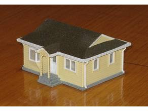 HO Scale Tenants House