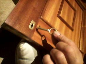 Door lock cover.