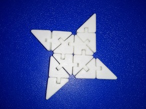 Articulated ninja star
