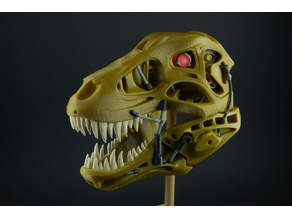 Terminator Rex remixed for multicolor