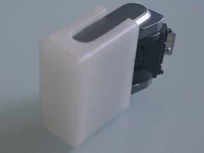 Flashlight diffuser for Sony Nex 5R