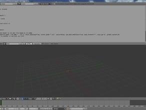 Blender multiple stl export script