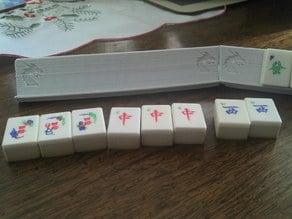 Mahjong Game tile holder