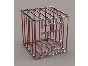 BDSM Bondage Cage!