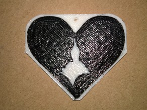 Dual Extruder Heart Couple