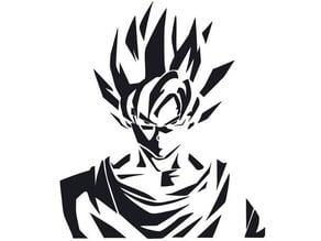 Goku stencil