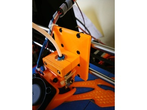 i3 proB Z Carrige Bowden Extruder mount plate