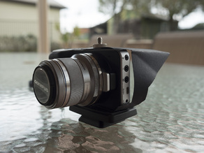 Blackmagic Pocket Cinema Camera Screen Hood