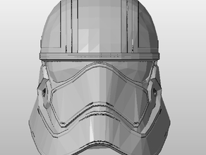 Star Wars : The Force Awakens - Captain Phasma Helmet