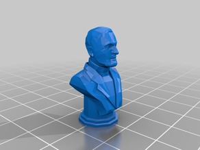 Wallace Breen bust from Half-Life 2