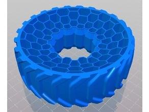 OpenRC 1:10 RC Truggy Rims AirLess - Tire 03 Reversed Tread