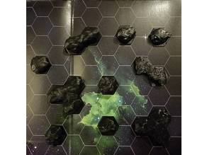 Hex Grid Asteroids