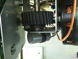 Helical Drive Gear for Garage Door