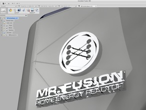 Back to the Future Mr. Fusion Insignia