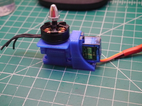 Tricopter Tail servo mount