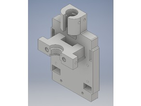 Extrudermount for Precision Piezo Groovmount and E3DV6