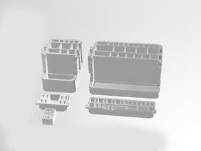 tool- and penholder - deskorganizer - modular - boxes - easy to print version