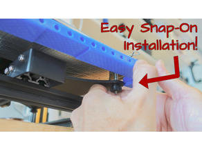 CR-10 Easy Snap-on Universal Bed Mount