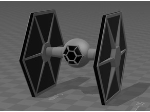 TIE Fighter minimalist