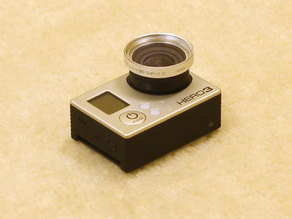 GoPro Lens adapter