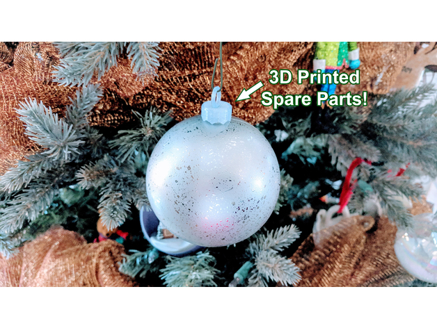 Ornament Cap And Hanger Christmas Spare Parts Shindo Design