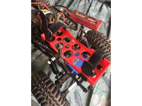 SCX10 Battery Box Relocate Set Axial