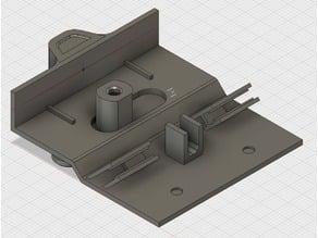 Locking mechanism for Dometic RM 7655L refrigerator