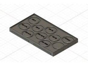 Phantom 4 / 4 Pro / 4 Adv Flat Case