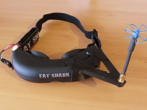 FatShark Goggle Antenna Holder