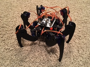 Hexapod with 12g servos