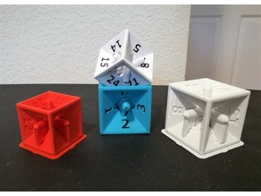 A 24 sided Die with 6 Sides? Tesseract inspired Die with 24 possible outcomes.