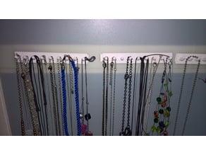 Jewelry Holder, Jewelry Hook Rail