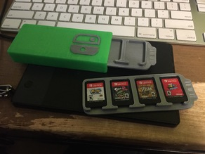 Nintendo Switch cartridge holder