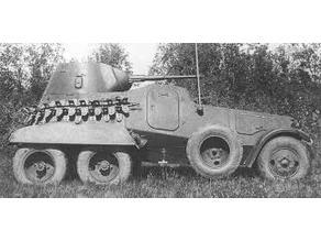 BA-11 armoured car