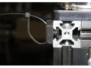 T-SLOT WIRE & CABLE GUIDE