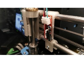 Endstop mount for x axis Prusa I3
