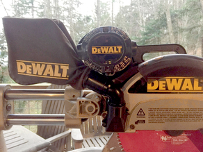 "DeWalt DW708 Mitre Saw ""Dust Extractor"""