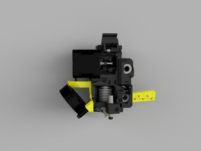 Revised MK3 Extruder and X Carriage for MK2s parts