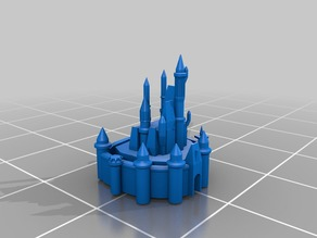 Walt Disney World's Cinderella Castle