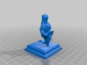 Pawn Chess Piece - Photogrammetry