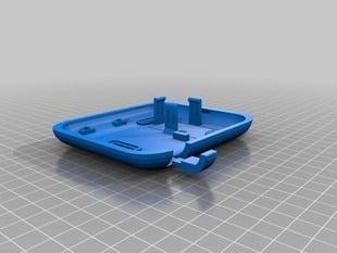 arduino box: base uno (wall mount, 9v & shields)