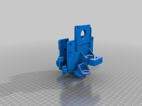 My Customized Hot End Mount Generator -  for various carriages, hot ends and options.