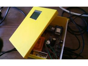 Boitier Wattmètre Triphasé