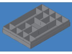 electronic parts tray (for Arduino starter kit)