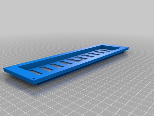 Vent for caravan door Knaus azur by HaDel - Thingiverse