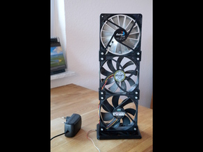 Nerd Fan (a table fan)